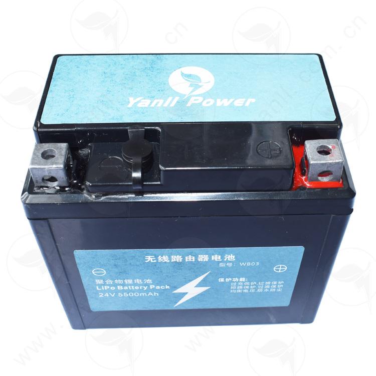 无线路由器备用电源24V 3000mAh无线路由器电池