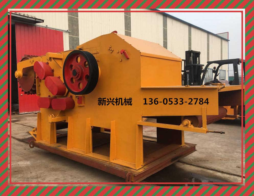 山东木片机价格生产厂家价格优惠选新兴机械鼓式木片机木材粉碎机机