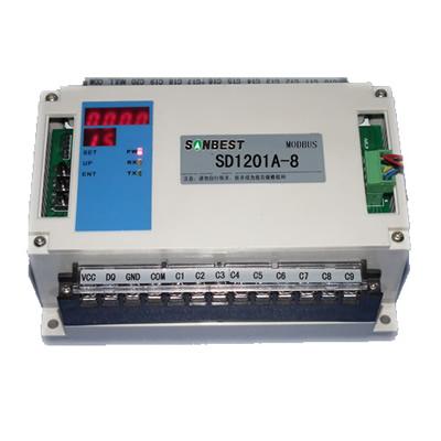 8路RS485接口PT100温度集中采集仪(巡检仪)传感器