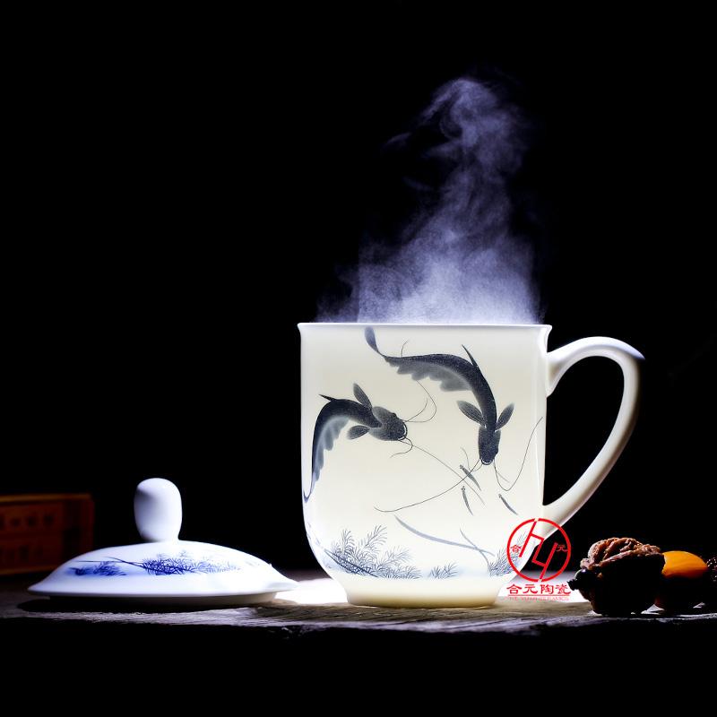 中南海杯定制纯手工制作茶杯