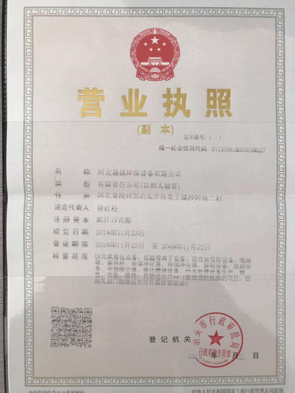 河北晟扬环保设备有限公司