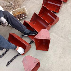 木屑颗粒带式塑料斗提升机厂家直销 安装调试斗式提升