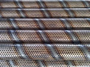 螺旋冲孔焊接管