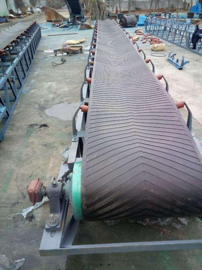 檔板輸送機氣墊皮帶輸送機 熱銷圓管移動式運輸機xy