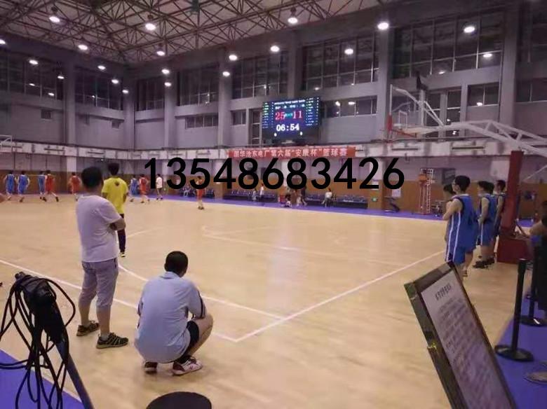 兴山县初中篮球馆木地板施工