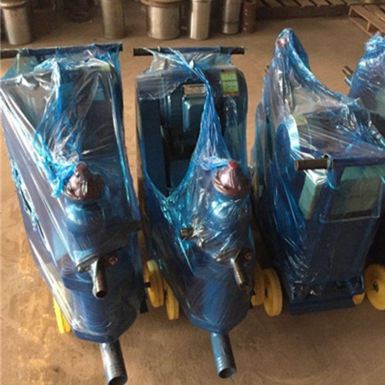 四川資陽橋梁壓漿機灰漿泵單缸活塞式注漿泵