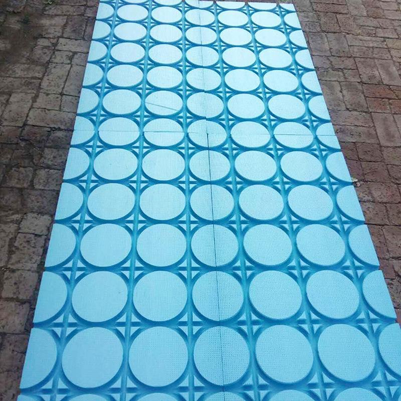 固原地暖盘管下设挤塑板作用