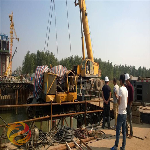鶴崗市水下倒虹管安裝公司-水下作業