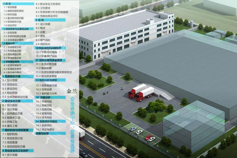 范縣公司專業寫項目可行性報告2021版