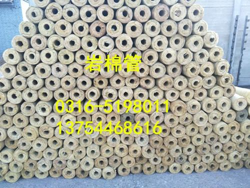 青島四方鐵皮保溫施工巖棉管有現貨